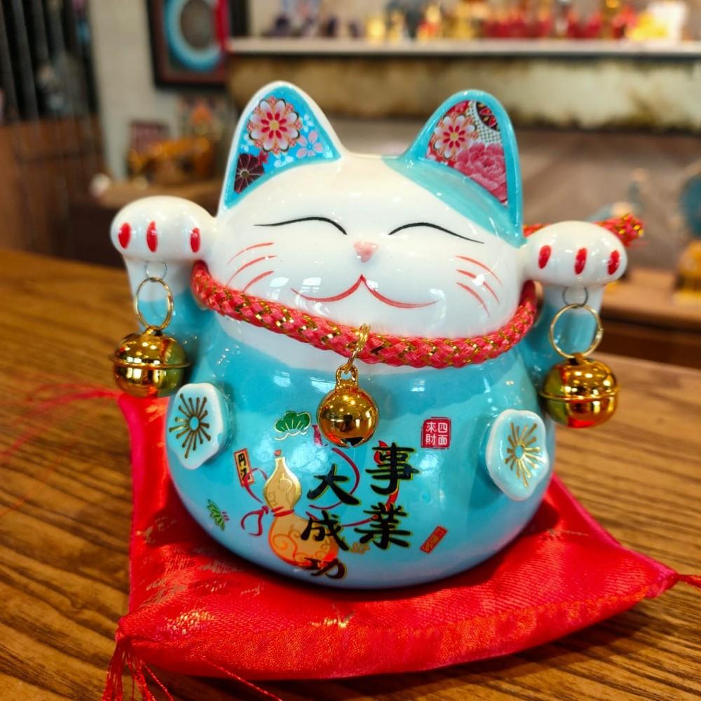 Кот Манеки Неко - денежный кот