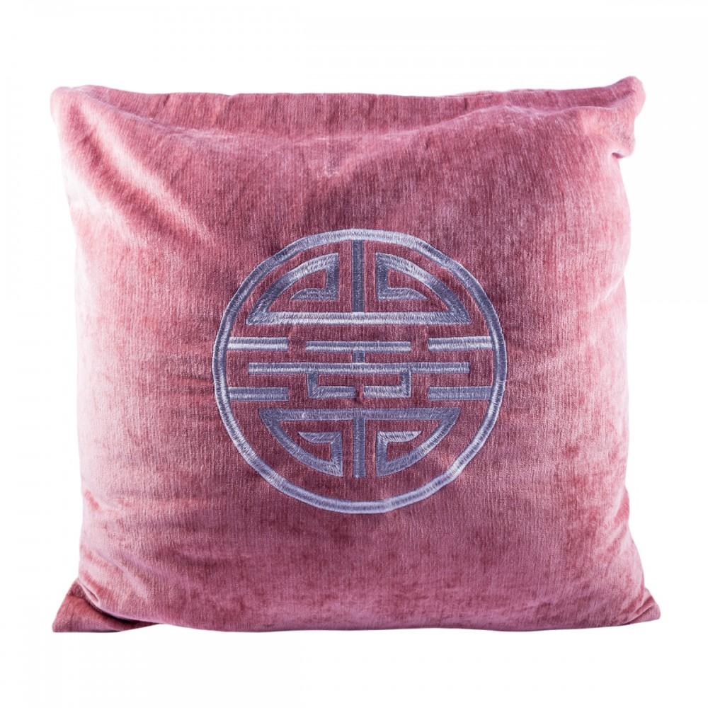 Подушка с вышивкой LPB большая 50 см