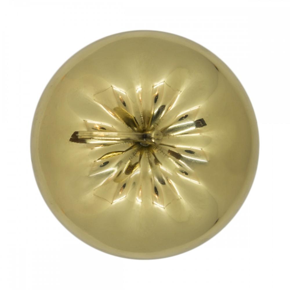Статуэтка Яблоко золото с листиком
