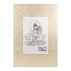 Картина Тара на золотом фоне