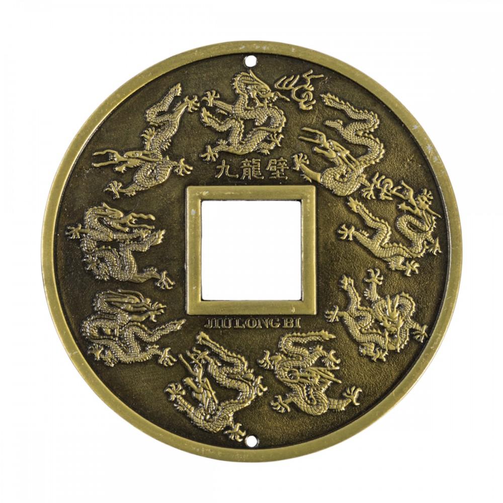 Монета с 9 Драконами большая