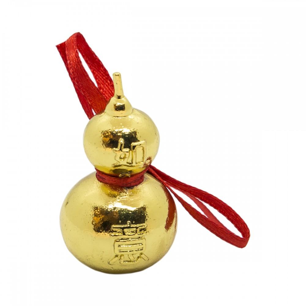 Золотая микро-статуэтка Тыква горлянка Улоу