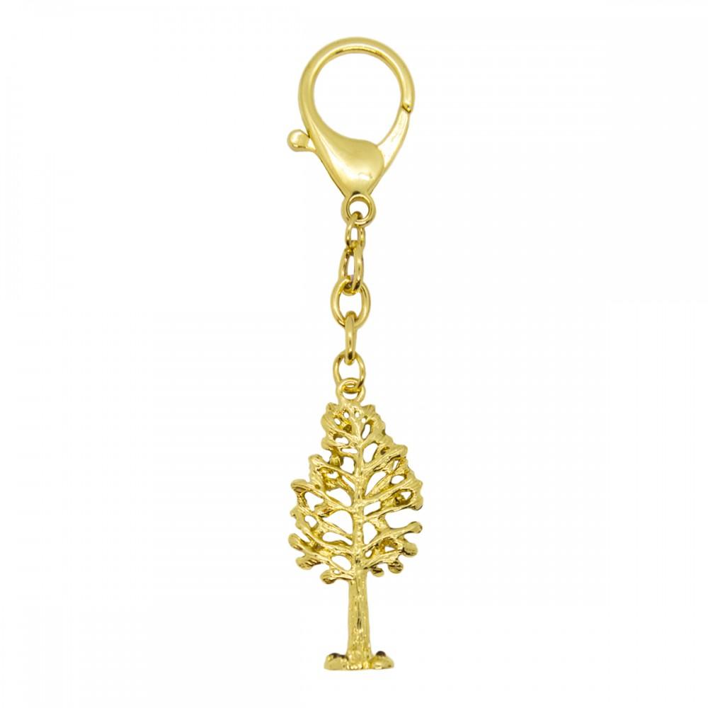 Брелок Золотое дерево с птицами