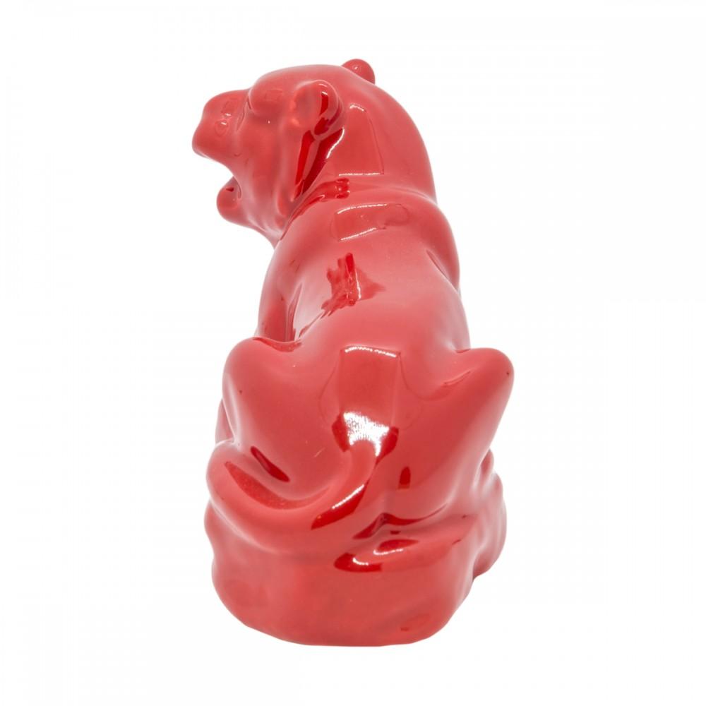 Статуэтка Тигр красный маленький