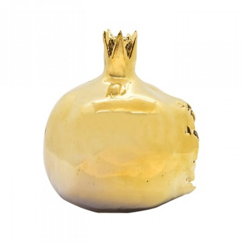 Статуэтка Гранаты золото,закрытый с зернами маленькие