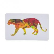 Карточка с тигром