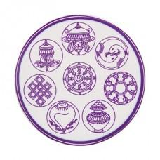 Наклейка с 8 благотворными символами