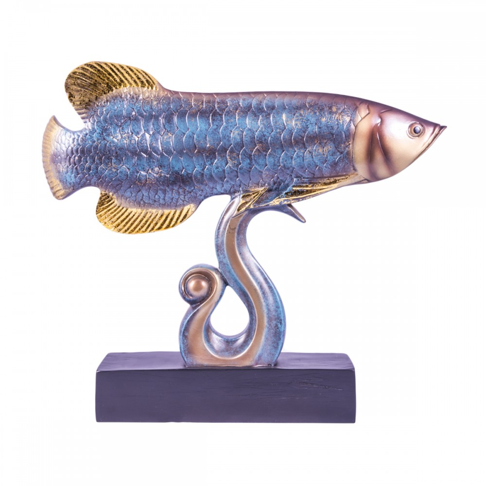Статуэтка Арована известная как рыба миллионера. Способствует карьерному росту...