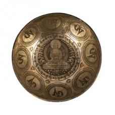 Поющие чаши с Буддой медицины из Непала большой 33см