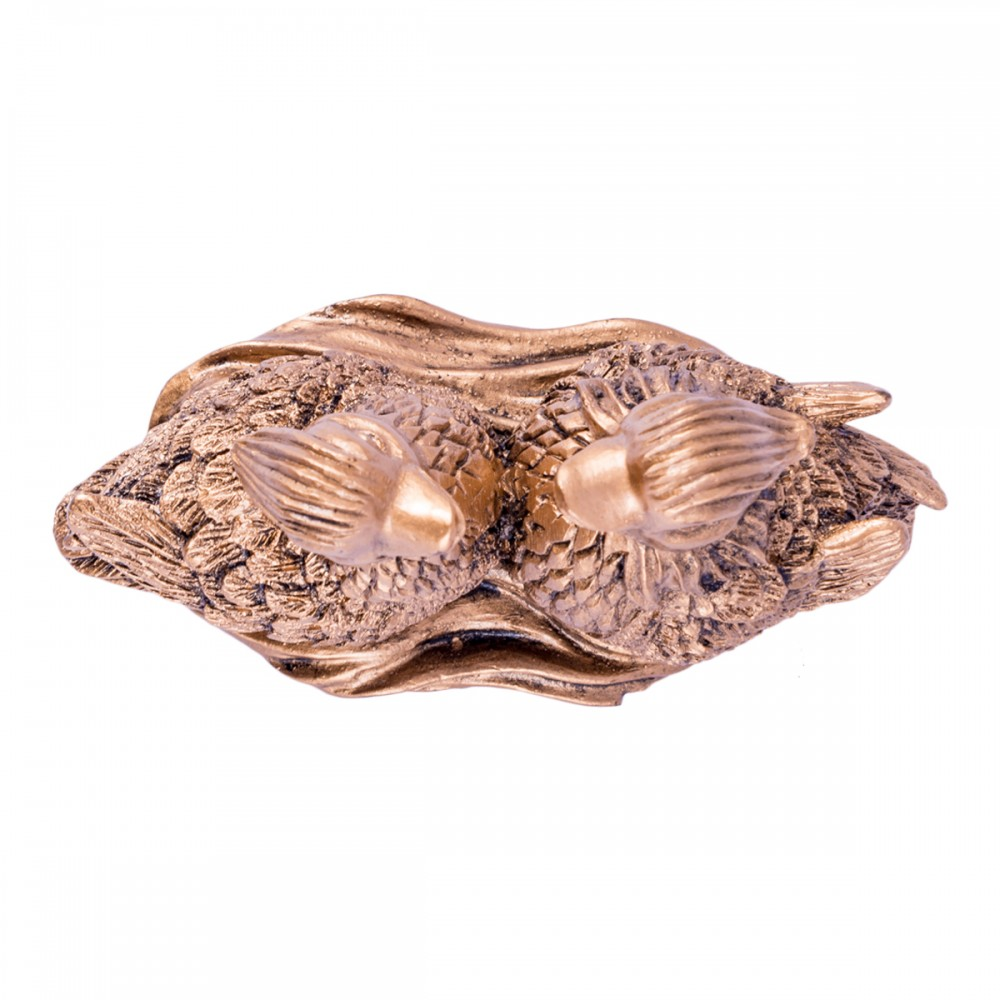 Статуэтка Утки мандаринки на воде смола