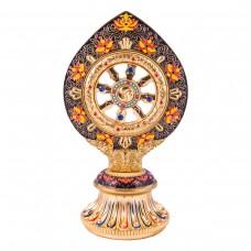 Статуэтка с колесом фортуны цветная большая