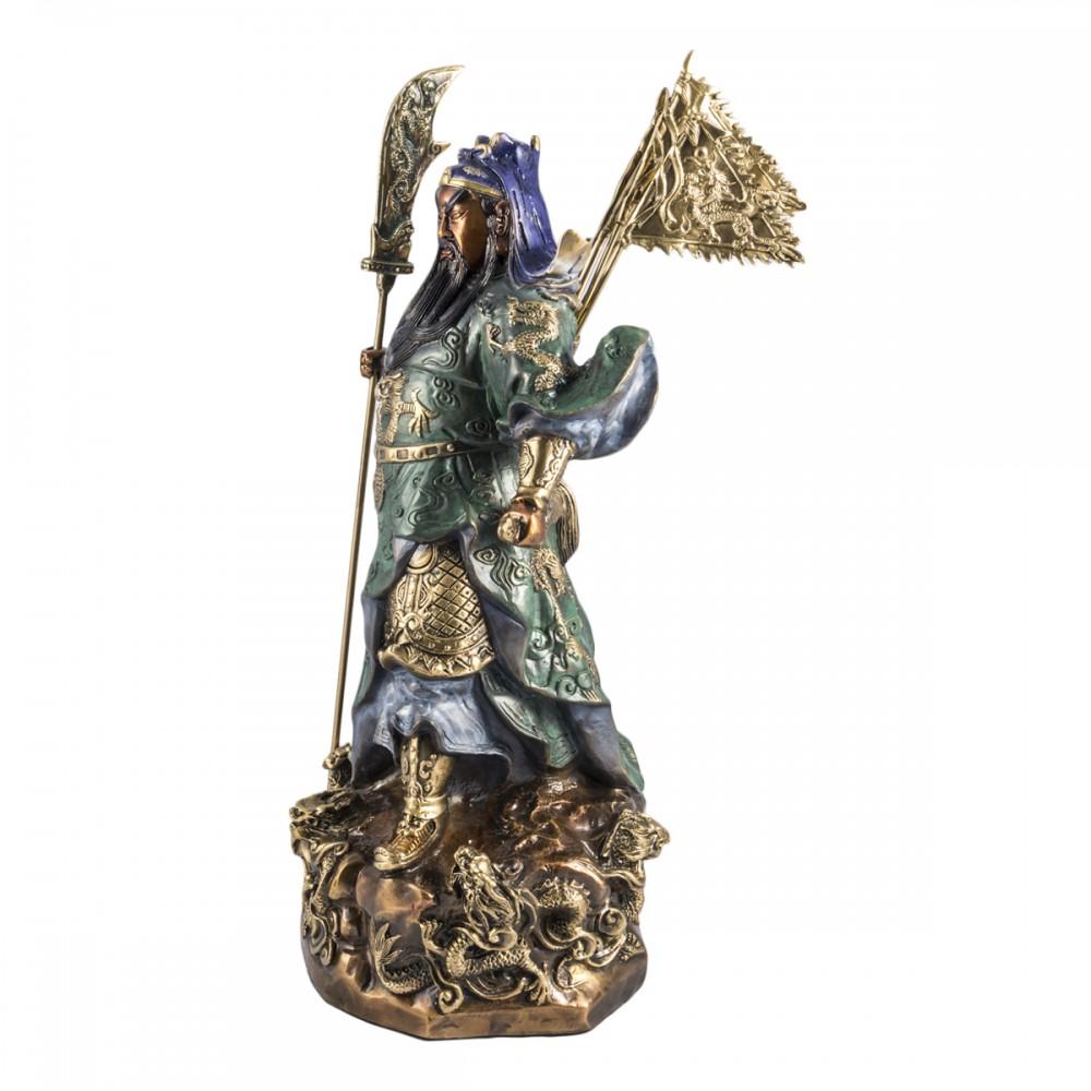 Статуэтка Гуань Гун бронза