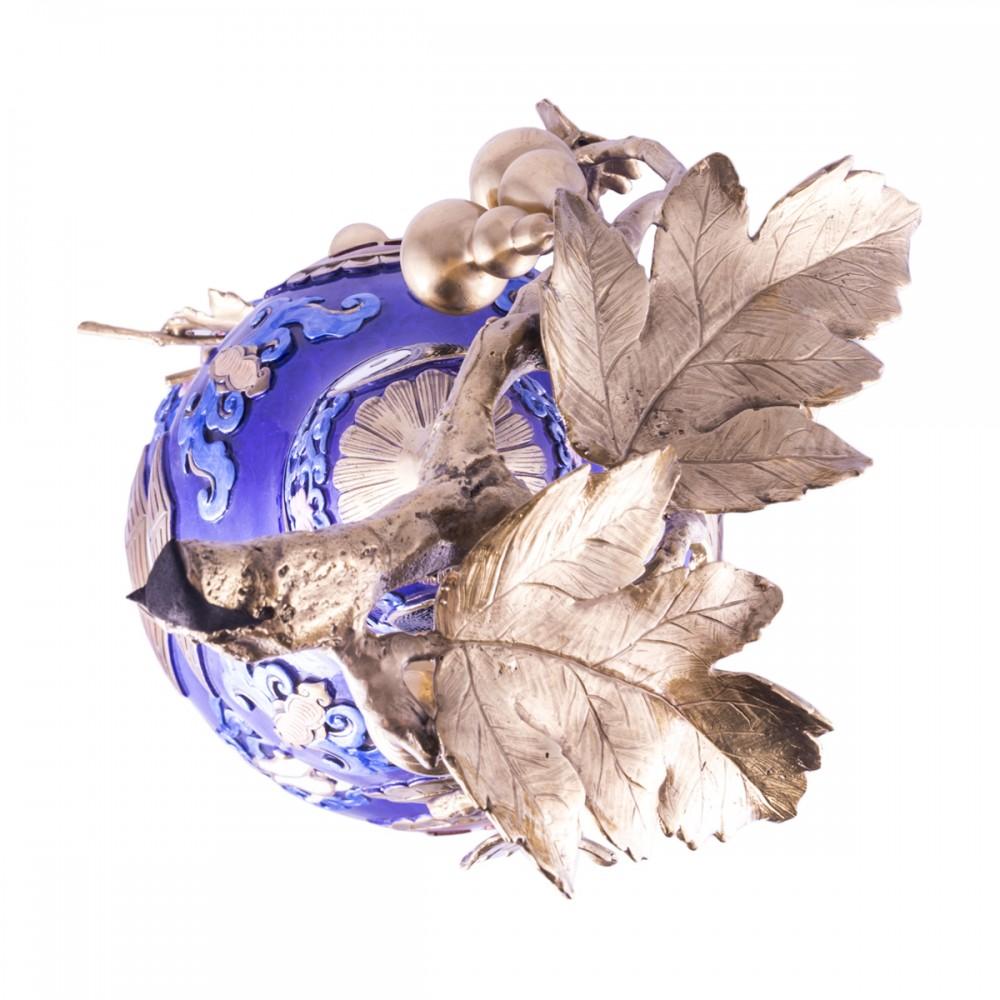 Тыква Улоу синяя очень большая
