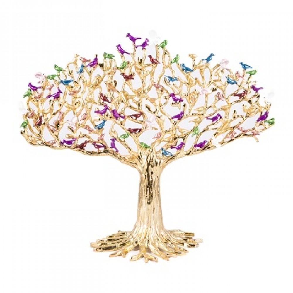 Статуэтка дерево 100 птиц большая