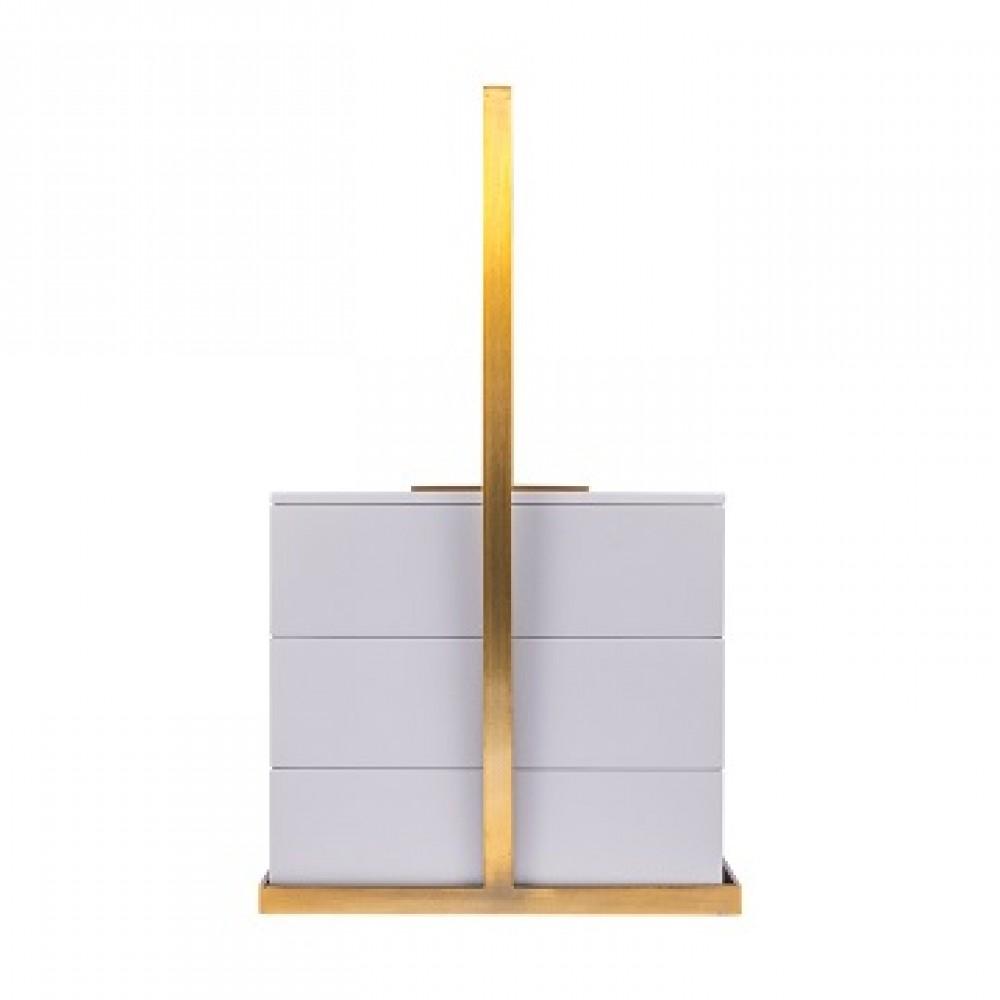 Шкатулка декоротивная квадратная, серое