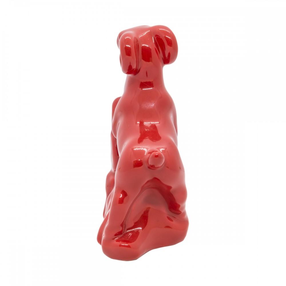Статуэтка Коза красная маленькая