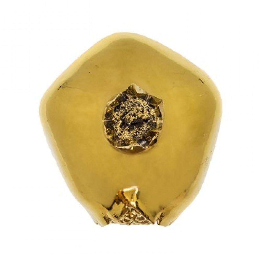 Статуэтка Гранаты золото,закрытый с зернами средний