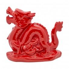 Статуэтка Дракон красный