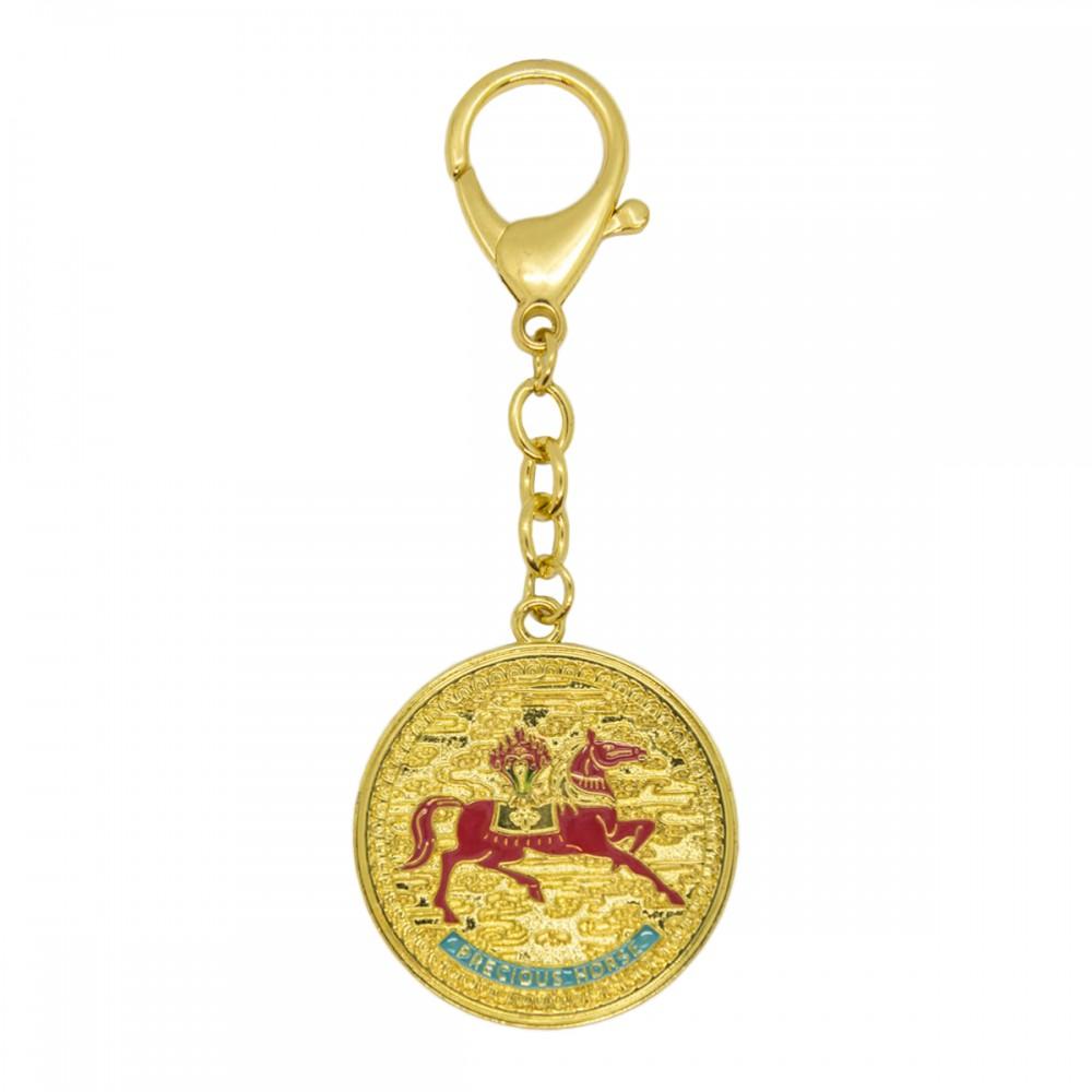 """Брелок Лошадь с """"7 Приближенных Императорского Двора"""" дарует внутреннюю силу и  смелость быть стойким по жизни!"""