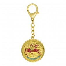 Брелок Лошадь с 7 приближенных императорского двора