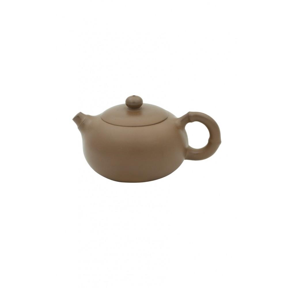 Чайник глинянный светло-коричневый