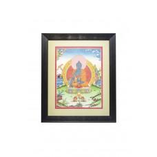 Картина Будда Медицины (светло-зеленый по паспарту)