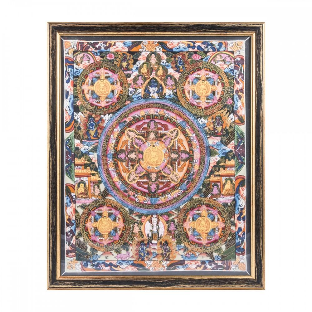 Картина Мандала пяти Буд