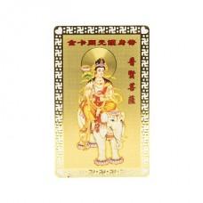 Пластина Гуань -Инь на слоне