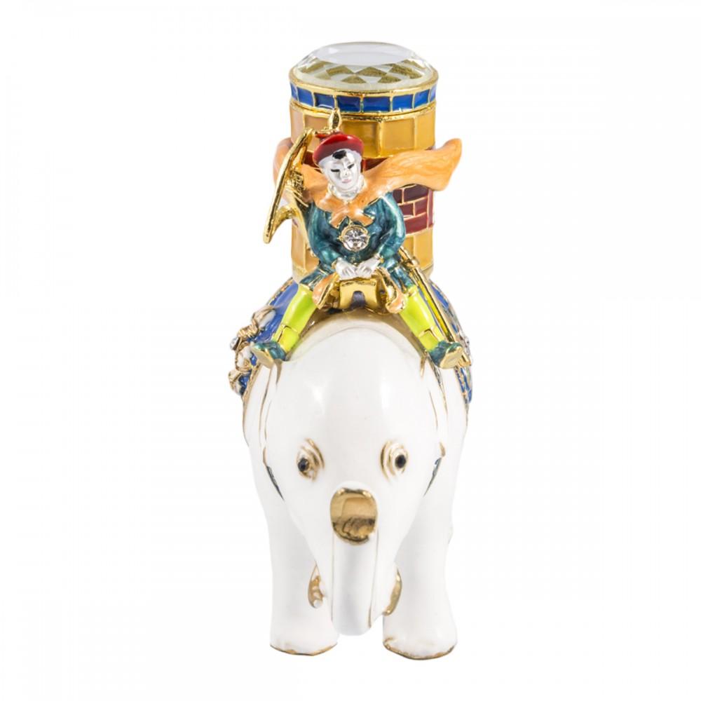 Статуэтка Боевой слон с воином