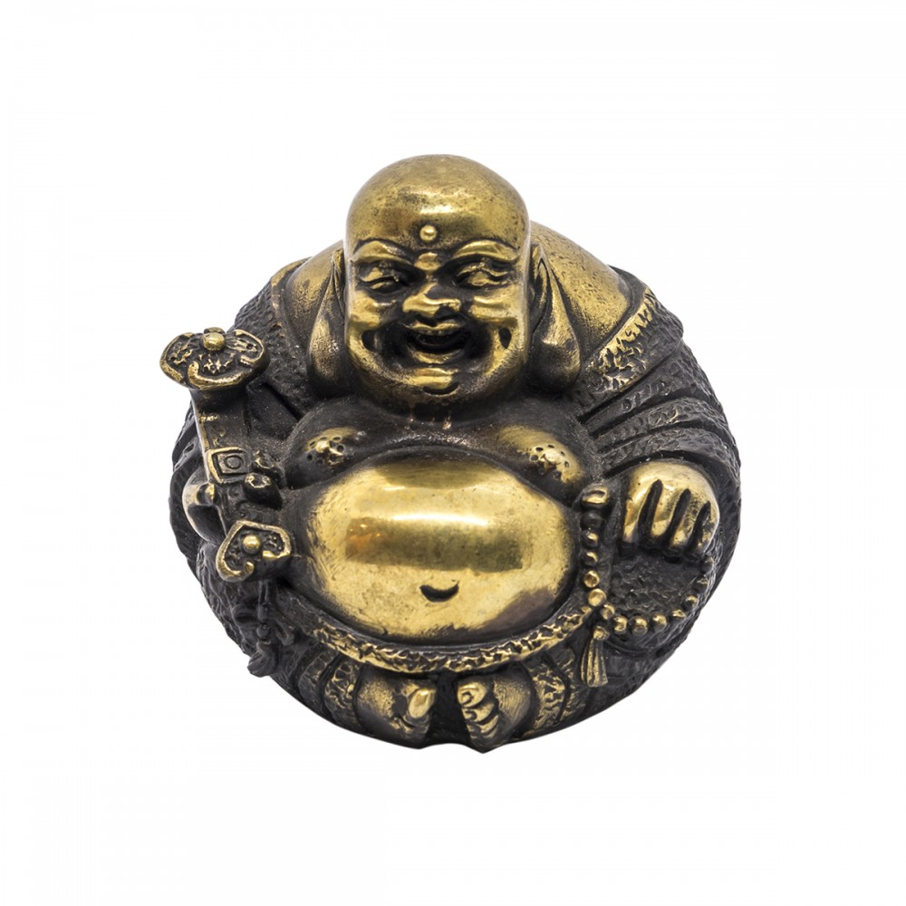 Статуэтка Хоттей черная бронза с золотом маленький