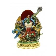 Статуэтка На зеленом Драконе – Богиня долгой жизни