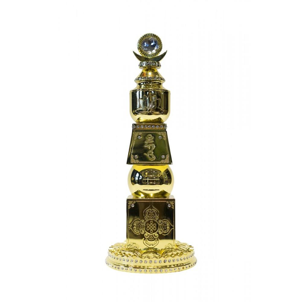 Статуэтка Пагода пяти стихий с камнем