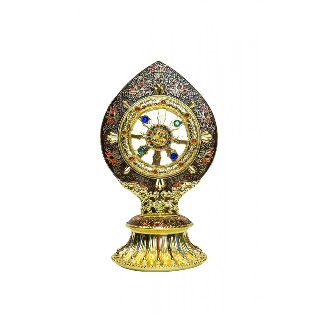 Статуэтка с колесом фортуны цветная