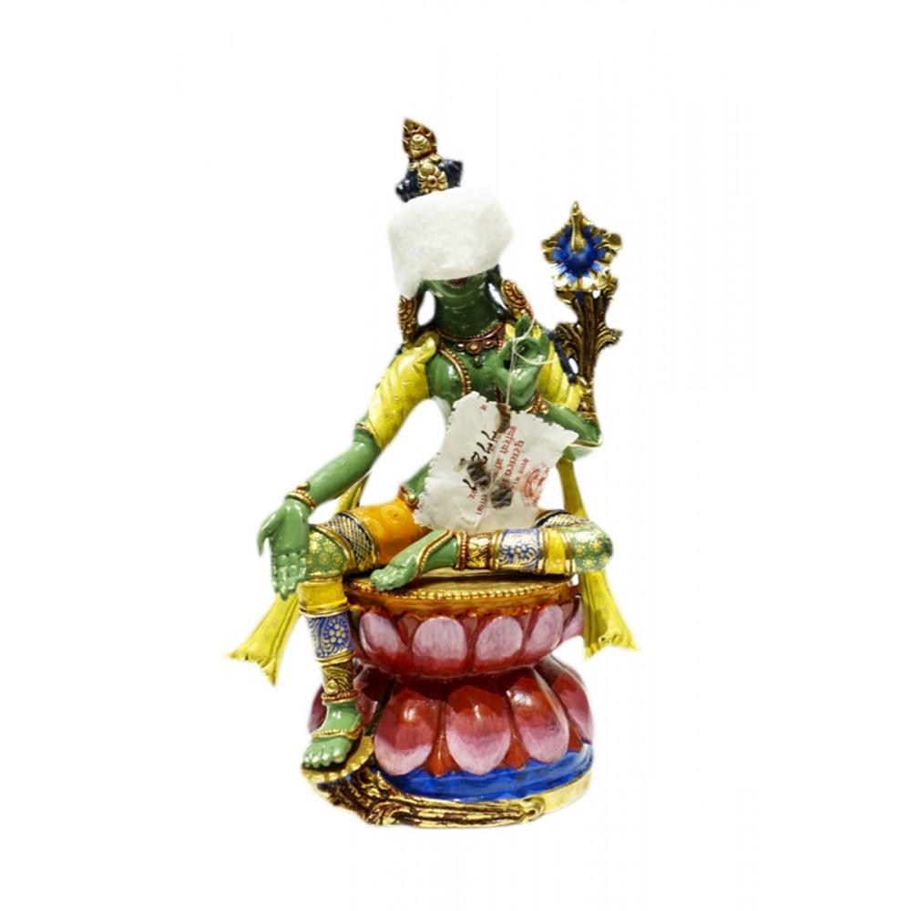 Статуэтка Тара с завязанными глазами, цветная