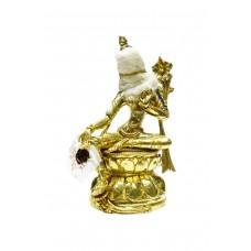 Статуэтка Тара с завязанными глазами, золото