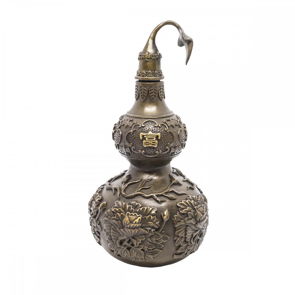 Статуэтка Тыква Улоу темная бронза средняя