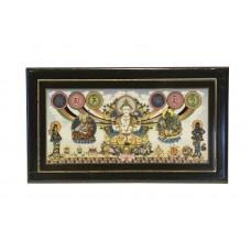 Табличка Ом Мани Падме Хум для благословения дома